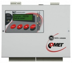 Data logger COMET SYSTEM MS55D, memorie 480000 de inregistrari, 16 intrari analogice/digitale, alarma, Ethernet, USB, RS485/RS232