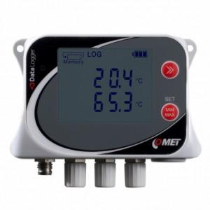 Data logger COMET SYSTEM U0141, masurare temperatura, pana la 500000 inregistrari, protectie IP67, 4 intrari PT1000