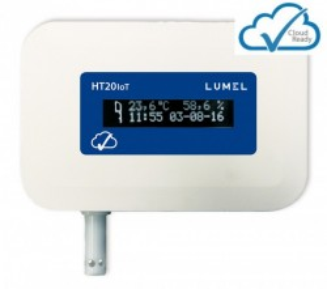Data logger de temperatura si umiditate LUMEL HT20IoT, memorie interna 8GB, Ethernet, MQTT