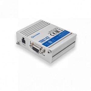 Modem GSM 4G TELTONIKA TRB142, gateway, MODBUS, MQTT, RS232, 2 intrari/iesiri digitale, micro USB, carcasa metalica