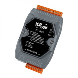 Modul I/O ICPDAS ET-7019, 8AI/4DO, Ethernet, Modbus TCP