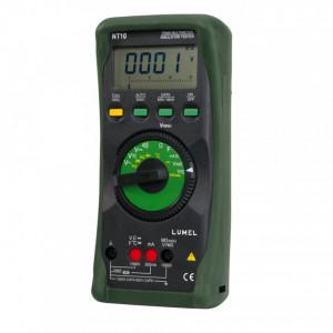 Multimetru LUMEL NT10, măsurare tensiune, curent, rezistență sau temperatură, maxim 300A