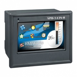 "PLC cu HMI ICPDAS VPD-143N-H, touch screen 4.3"", Ethernet, extensie I/O, RS485/RS232"
