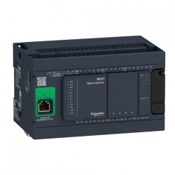 PLC SCHNEIDER ELECTRIC TM241CE24R, 14DI/10DO, iesiri tranzistor si releu, Ethernet, port serial (RJ45), alimentare 100 - 240 VAC