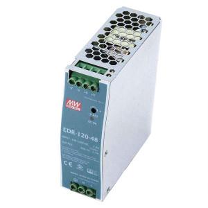 Sursa de alimentare MEAN WELL EDR-120-48, iesire 48V, 2.5A, 120W, montaj pe sina DIN