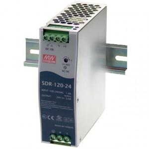 Sursa de alimentare MEAN WELL SDR-120-12, iesire 12V, 10A, 120W, montaj pe sina DIN