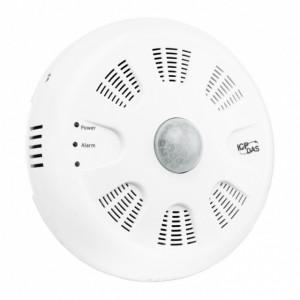 Traductor ICPDAS PIR-230-E, masurare temperatura, umiditate, alarmare incendiu, detectie miscare, Ethernet, PoE