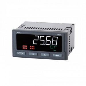 Traductor LUMEL N32U, intrare pentru măsurare temperatură, rezistență și semnale standard, 4 ieșiri în releu, RS485, alimentare 85-253 VAC sau 90-300 VDC