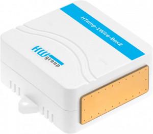 Traductor masurare temperatura si umiditate HWG HTemp-1Wire-Box2, utilizare la interior, cablu de conectare de 3m