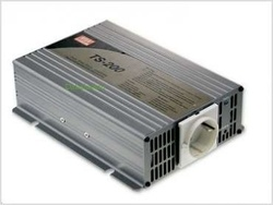 Convertor DC/AC MEAN WELL TS-200, iesire unda sinusoidala pura, 200W