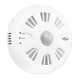 Traductor ICPDAS PIR-230-WF, masurare temperatura, umiditate, alarmare incendiu, detectie miscare, WiFi