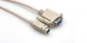 Cablu SERIAL pentru programare PLC XINJE Male - Female