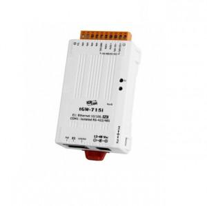 Convertor de protocol industrial ICPDAS TGW-715i, Ethernet, RS-485, conversie Modbus TCP - RTU