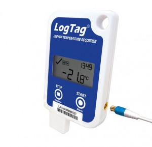 Data logger măsurare temperatură LogTag Recorders UTRED-16, ecran, intrare sonda externa, memorie 16129 valori