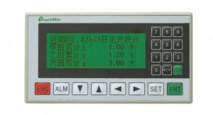 "HMI XINJE OP320-A-S, afisaj LCD 3.7"", monocrom, 20 taste, RS232/RS485"