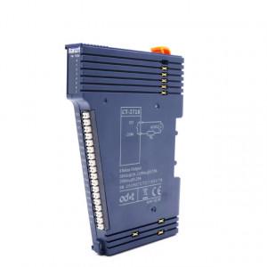 Modul de extensie I/O ODOT CT-2718, 8 ieșiri în releu izolate optic, maxim 2A/30VDC/60W, indicator led pentru fiecare ieșire, alimentare 24VDC