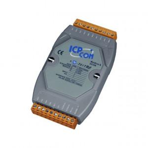 Modul I/O ICPDAS M-7017RC-G CR, 8AI diferentiale, RS485, Modbus RTU