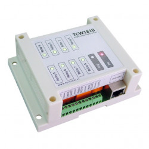 Modul I/O TERACOM TCW181B-CM, 1DI/8DO releu, Ethernet, web API
