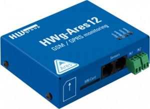 Modul monitorizare HW GROUP HWg-Ares, temperatura, umiditate si lumina, intrari senzori, alertare prin SMS/Email