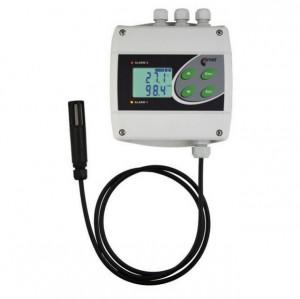 Regulator de temperatura si umiditate COMET SYSTEM H3021, iesiri releu, cablu extensie sonda 1m