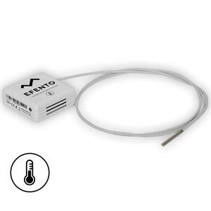 Senzor PT 1000 wireless pentru medii reci EFENTO BLE-T-LOW, BLUETOOTH, data logger memorie 60000 de înregistrări, alimentat cu baterii