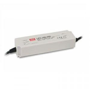 Sursa de alimentare de exterior MEAN WELL LPC-100-350, protectie IP67, iesire 143 - 286V, 0.35A, 100.1W