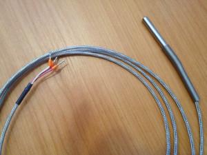 Termorezistență OMRON PT-100, -40...+300 °C, cablu de 2m