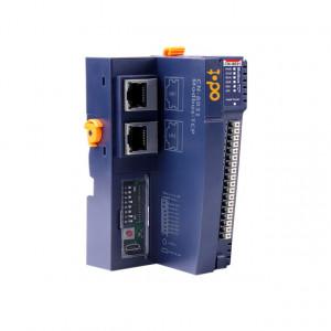 Unitate centrala modul I/O ODOT AUTOMATION SYSTEM CN-8031, protocol MODBUS TCP, suporta maxim 32 extensii, alimentare 24VDC