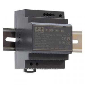 Sursa de alimentare MEAN WELL HDR-100-48, iesire 48V, 1.92A, 92.2W