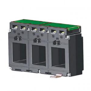 Transformator de curent Lumel LCTP1052140100A51, retele trifazate, curent primar 100A, clasa de precizie 1, iesire 5A