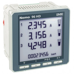 Analizor retea electrica IME Nemo 96HD, masurare parametrii retele monofazate si trifazate