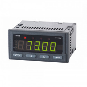 Data logger digital LUMEL N30B, protocol Modbus RTU, memorie interna 308000 inregistrari, RS485, montaj pe panou