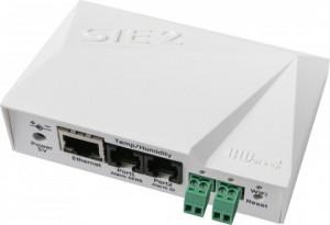 Echipament de monitorizare temperatura si umiditate HW Group HWg-STE2, Ethernet si WiFi, alertare prin email