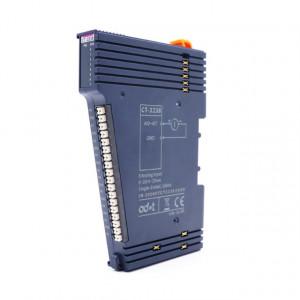 Modul de extensie I/O ODOT CT-3238, 8 intrări analogice izolate, 0-20mA/4-20mA, 15Bit, indicator led pentru fiecare intrare
