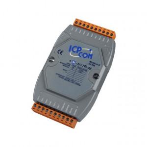 Modul I/O ICPDAS M-7017R-A5-G CR, 8AI diferentiale, RS485, Modbus RTU
