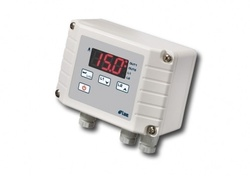 Regulator temperatura digital, intrare PTC/NTC10K, 2 relee, interfata RS485