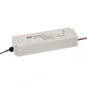 Sursa de alimentare de exterior MEAN WELL LPC-100-500, protectie IP67, iesire 100 - 200VDC, 0.5A, 100W