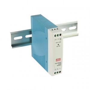 Sursa de alimentare MEAN WELL MDR-10-5, iesire 5V, 2A, 10W, montaj pe sina DIN