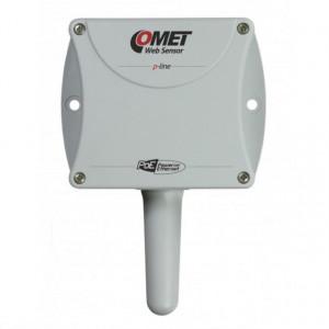 Traductor masurare temperatura COMET T8610, protocol Modbus TCP, sonda inclusa, ETHERNET, PoE