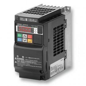 Convertizor de frecventa OMRON MX2-AB001-E, 0.12/0.18kW, curent nominal 1.0/1.2A, alimentare monofazata