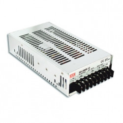 Convertor DC-DC MEAN WELL SD-200D-24, intrare 72 - 144VDC, iesire 24VDC, 8.4A, 201.6W