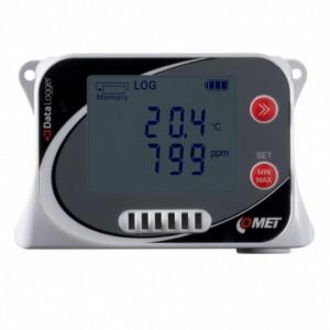 Data logger COMET SYSTEM U3430, masurare temperatura, umiditate si CO2, pana la 500000 inregistrari, protectie IP67, senzor incorporat