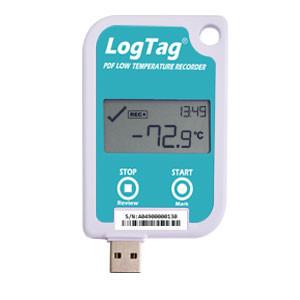 Data logger măsurare temperatură LogTag Recorders UTREL-16, ecran, intrare sonda externa, memorie 16129 valori