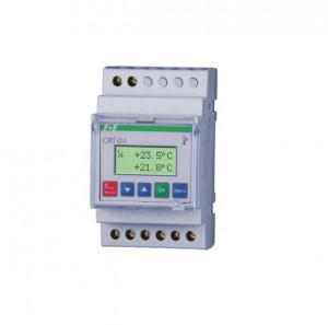 Regulator temperatura digital F&F CRT-04, programare 8 valori de temperatura, montare pe sina DIN
