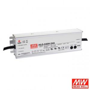 Sursa de alimentare de exterior MEAN WELL HLG-240H-12A, protectie IP65, iesire 12V, 16A, 192W