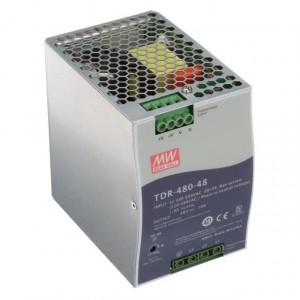 Sursa de alimentare MEAN WELL TDR-480-48, intrare trifazata sau monofazata, iesire 48V, 10A, 480W