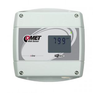 Traductor masurare CO2 COMET T5640, protocol Modbus TCP, sonda inclusa, ETHERNET, PoE