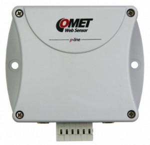Traductor masurare temperatura si umiditate COMET P8552, Ethernet, protocol Modbus RTU, 2 intrari sonde, 3 intrari binare