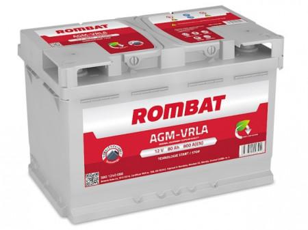 Poze Acumulator Auto Rombat AGM 12V 80Ah