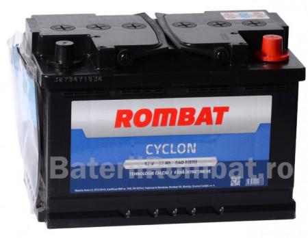Poze Acumulator Auto Rombat Cyclon 12V 77Ah
